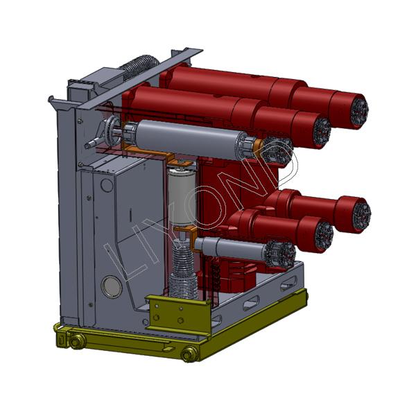 VZF(R)-12系列 - 中央安装的嵌入式极 - 真空 - 负载 - 断路 - 熔断器组合装置